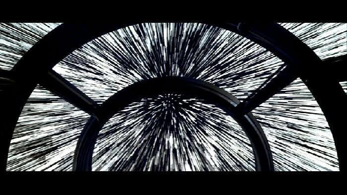 bim-millenium falcon na velocidade da luz