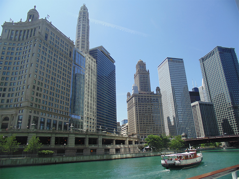 vista-arquitetura-chicago-e-o-lago-michigan