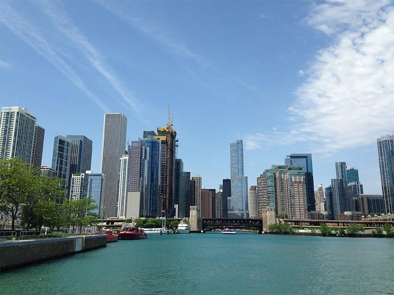 vista-do-ceu-e-arquitetura-de-chicago-eua