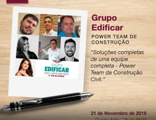 Grupo Arquitetos é também o Grupo Edificar