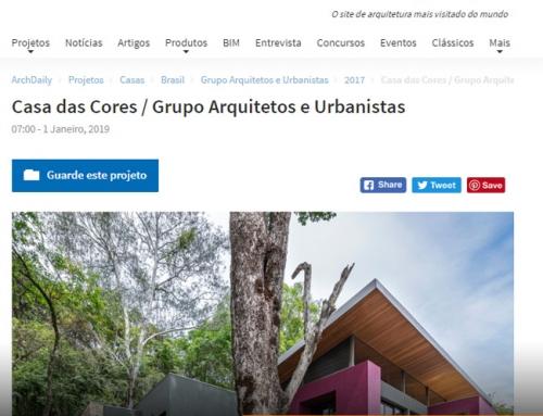 Projeto Grupo Arquitetos é matéria no portal ArchDaily