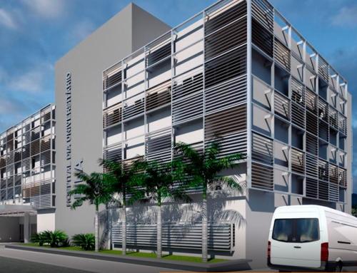Projeto de Arquitetura do Hospital da UFLA